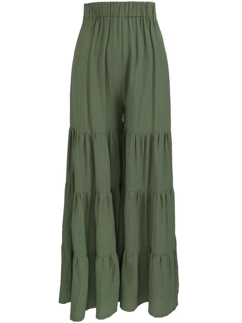 GUKARola Banding Wide Pants