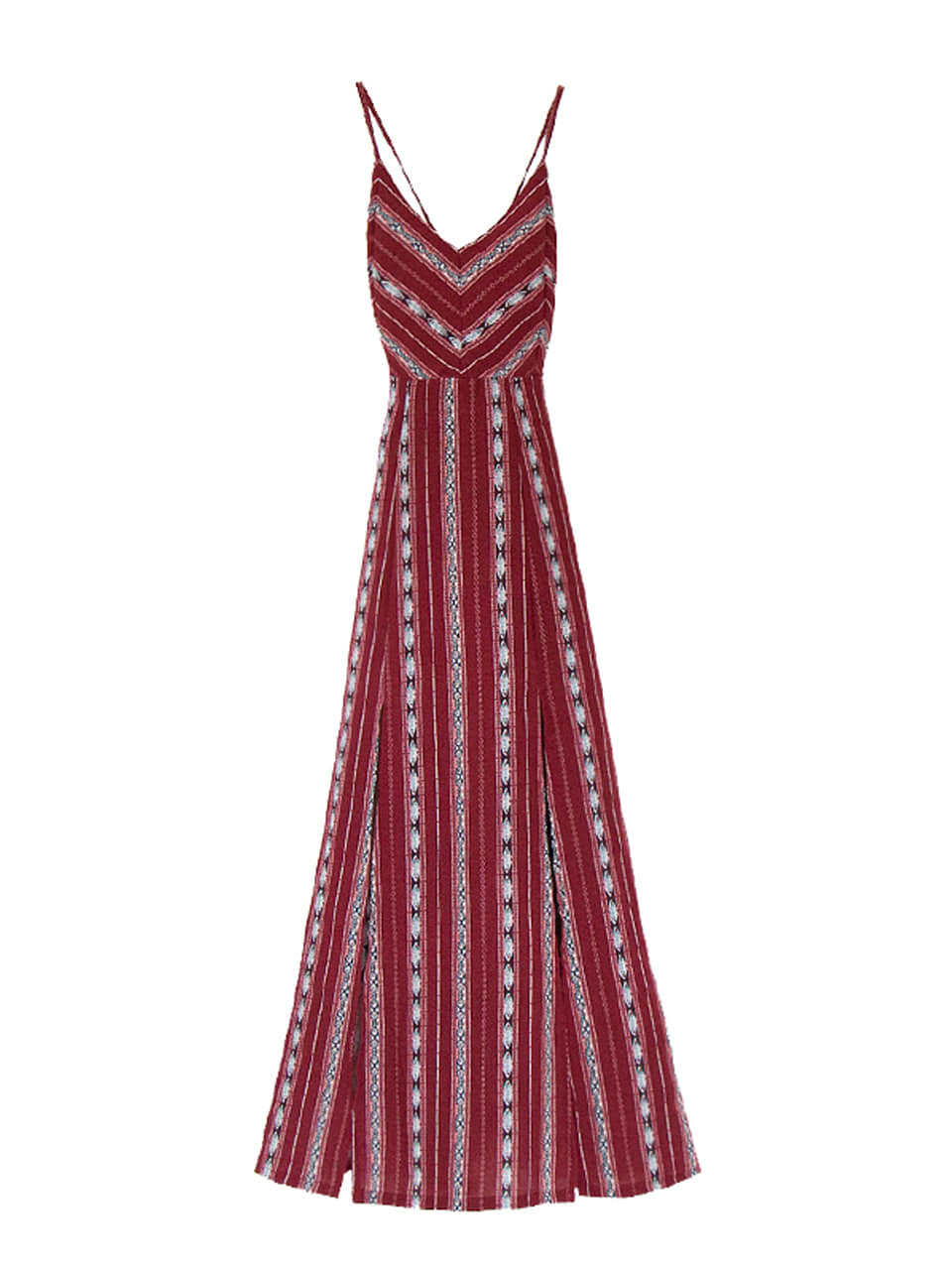 GUKAWINE ETHNIC MAXI DRESS