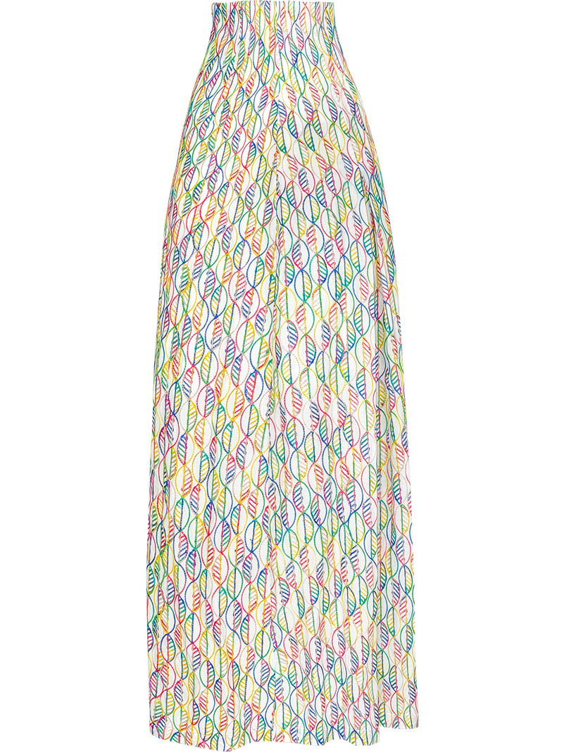 GUKAMaroon Color Skirt