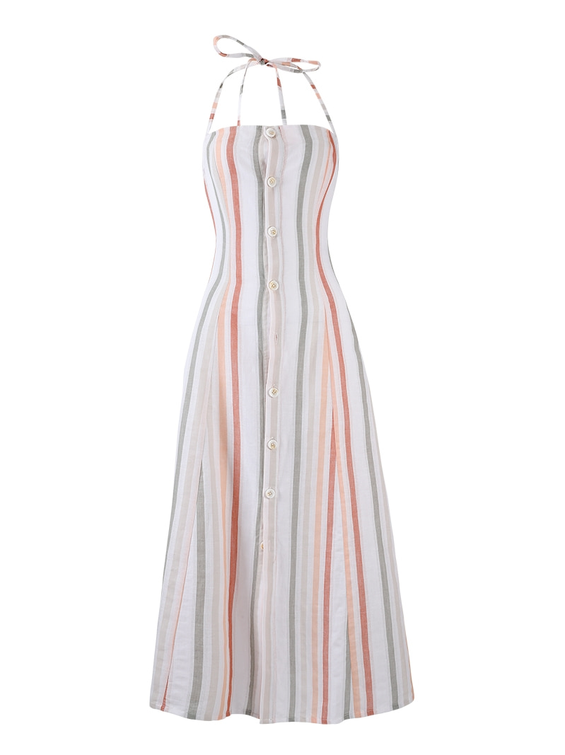 GUKApastel stripe dress