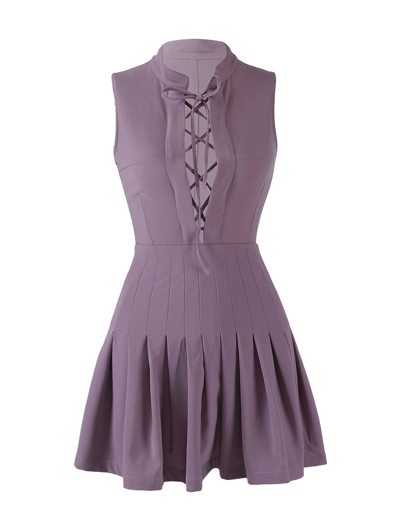 GUKApurple dress