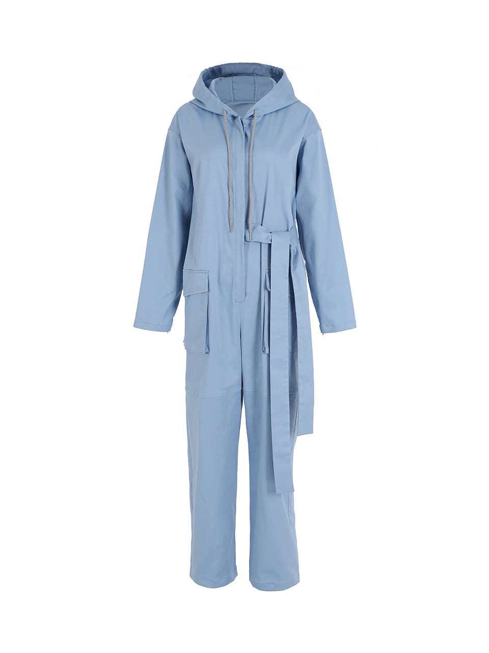 GUKAHooded jumpsuit -Blue