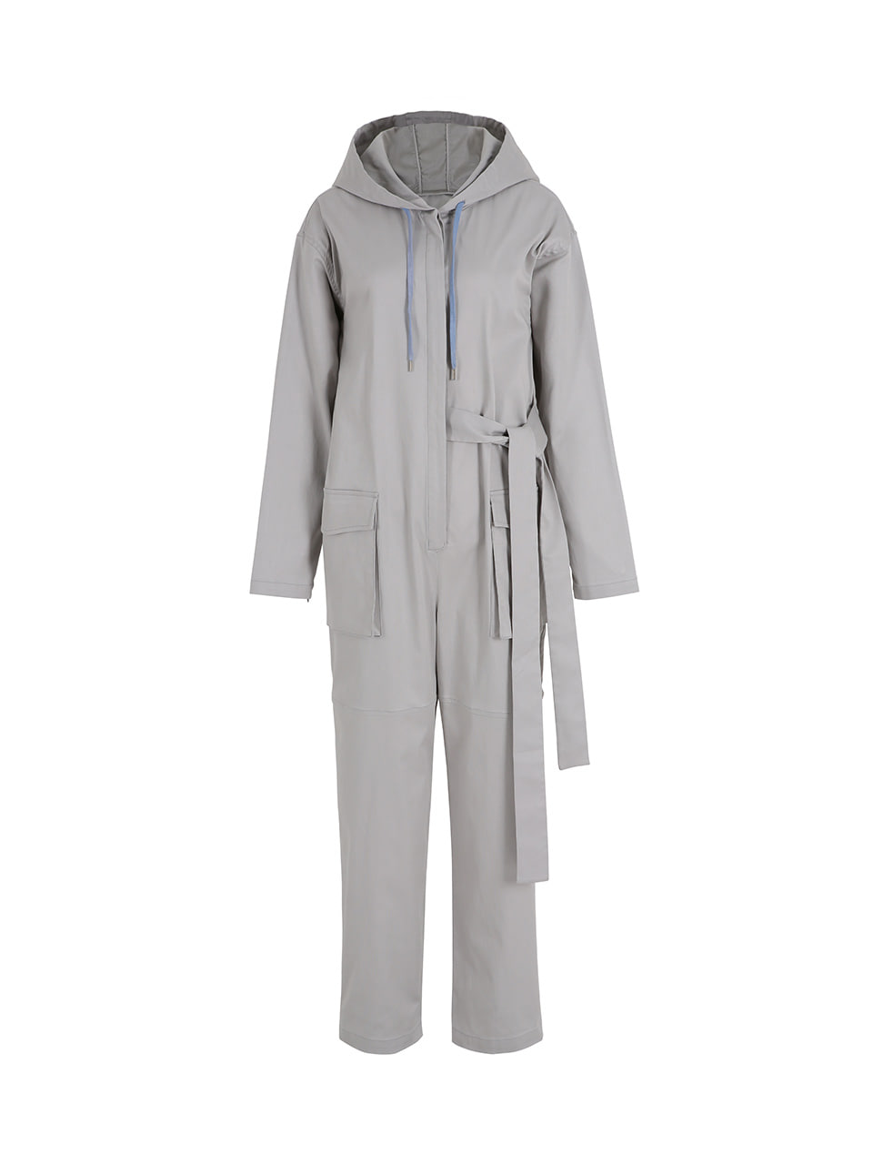 GUKAHooded jumpsuit -grey