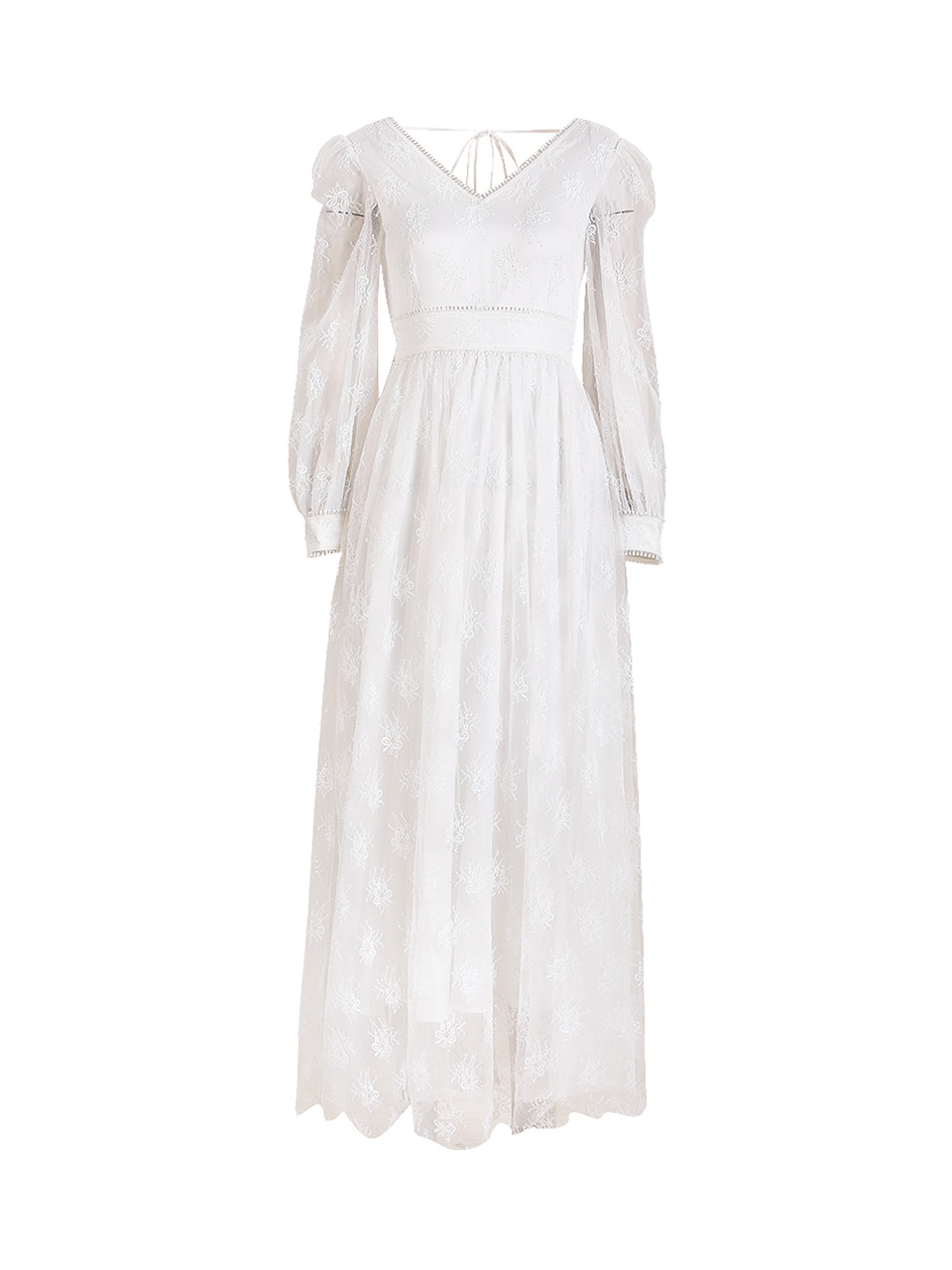GUKACeremony Pearl Long Dress